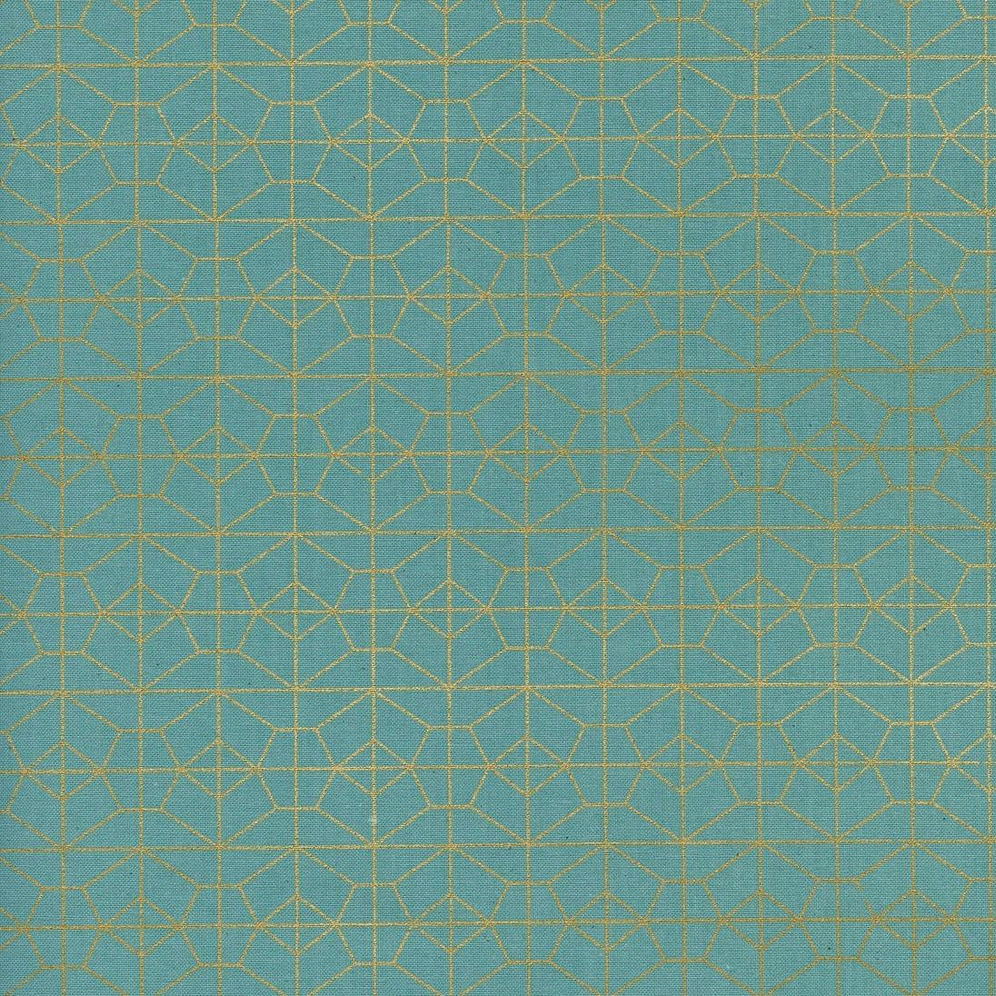 Rashida Coleman-Hale Akoma - Geo Grid (Sky Metallic)