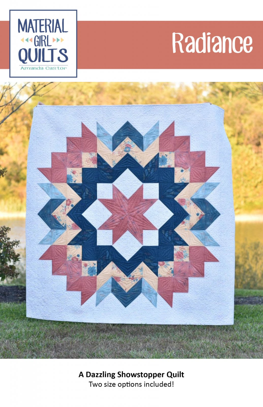 Radiance Pattern by Material Girl Quilts