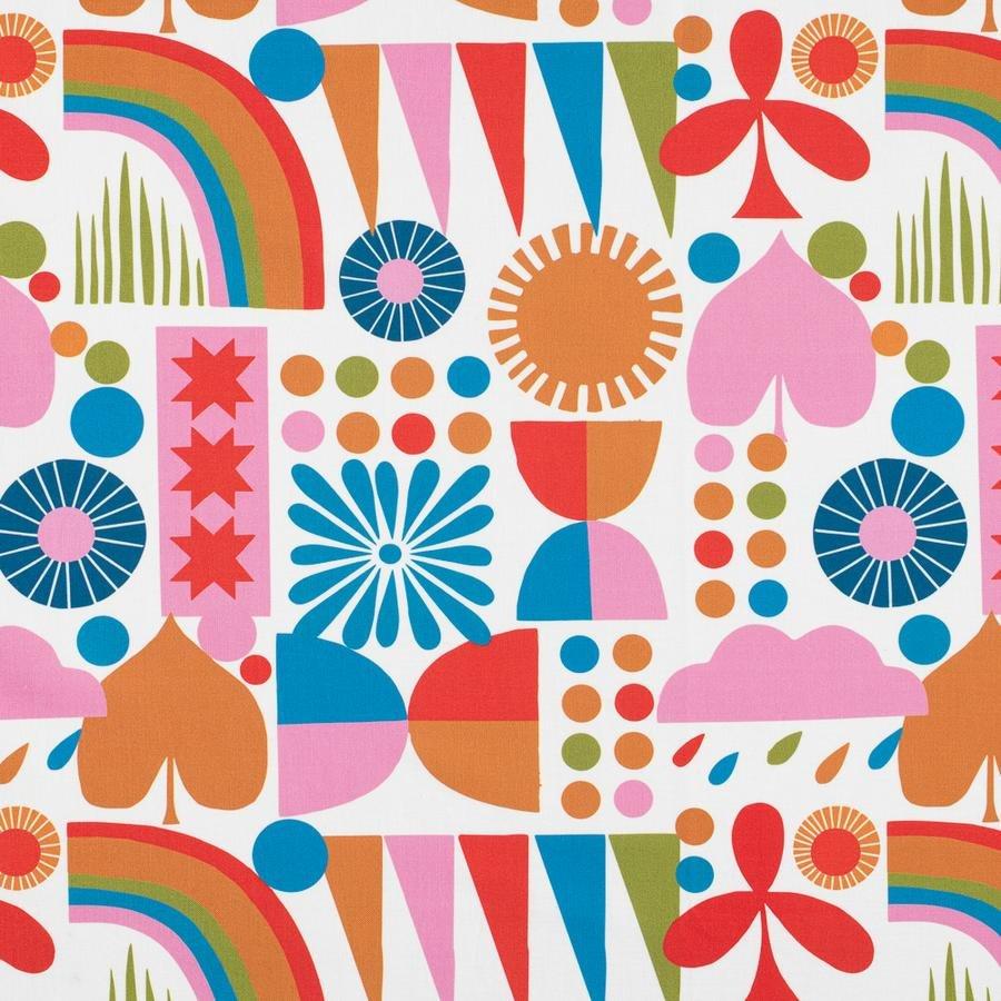 Lisa Congdon Rainbows (White)