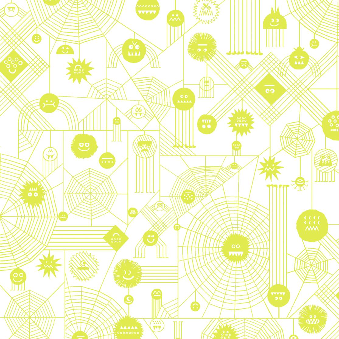 Rob Hodgson Across the Universe - Web Attack (Neon Yellow)