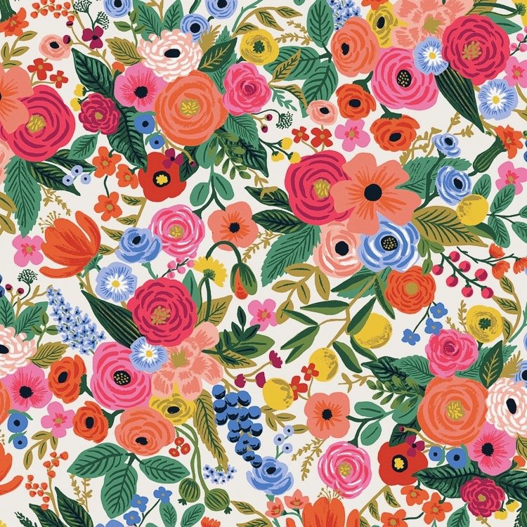 Rifle Paper Wildwood - Garden Party (Cream)