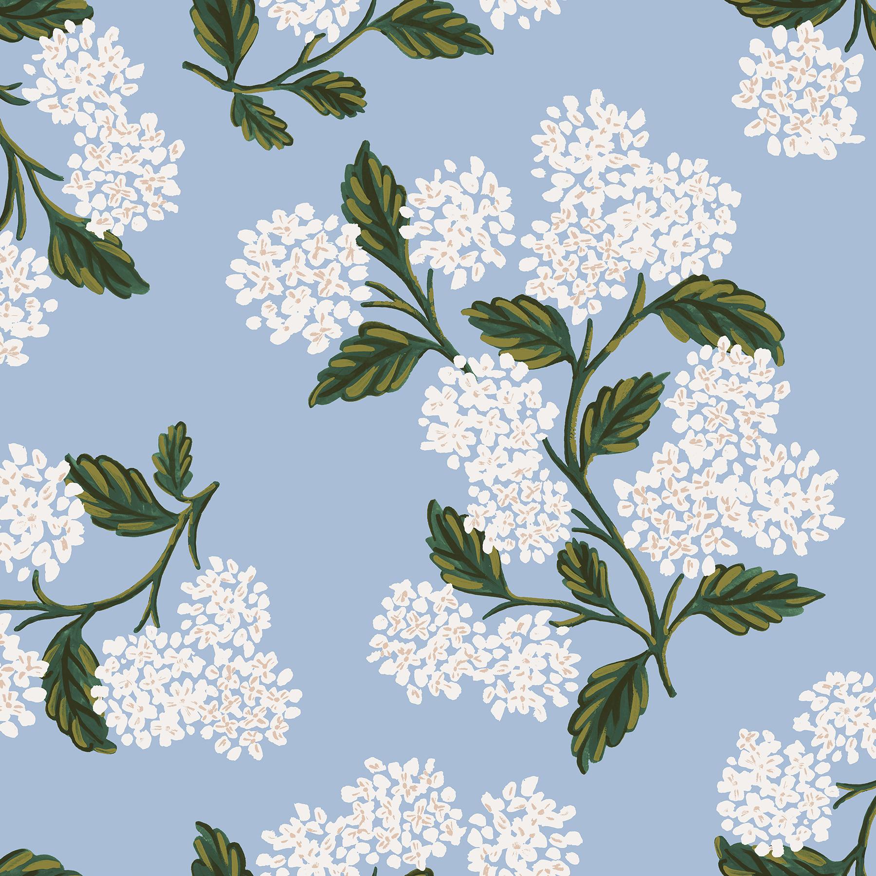 Rifle Paper Meadow - Hydrangea (Light Blue)