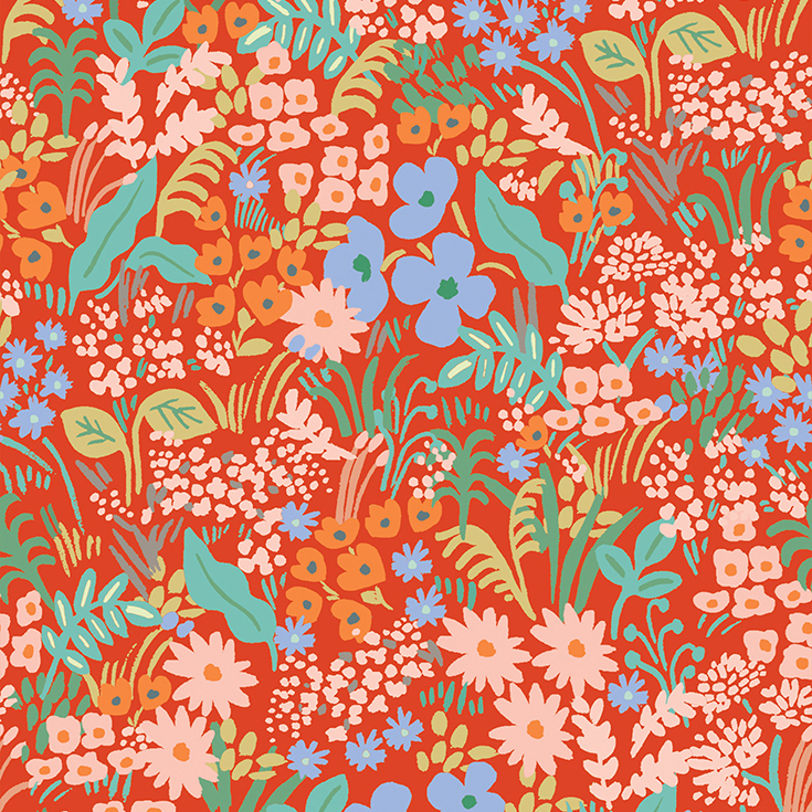 Rifle Paper Meadow - Meadow (Red)