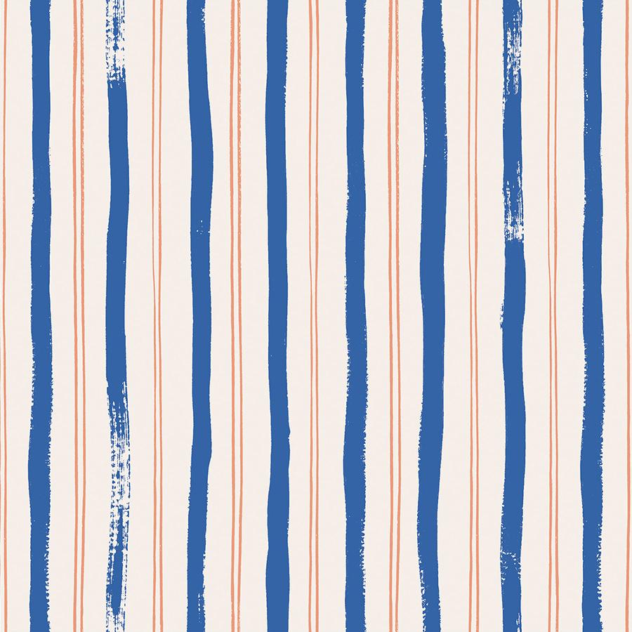 Rifle Paper Meadow - Stripes (Blue)
