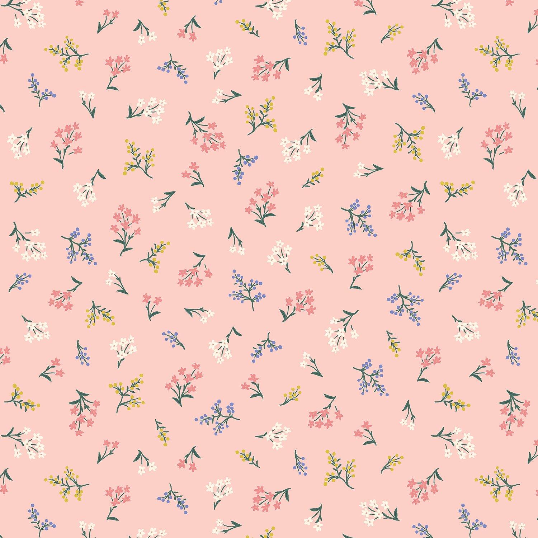 Rifle Paper Co Strawberry Fields - Petites Fleurs (Blush)