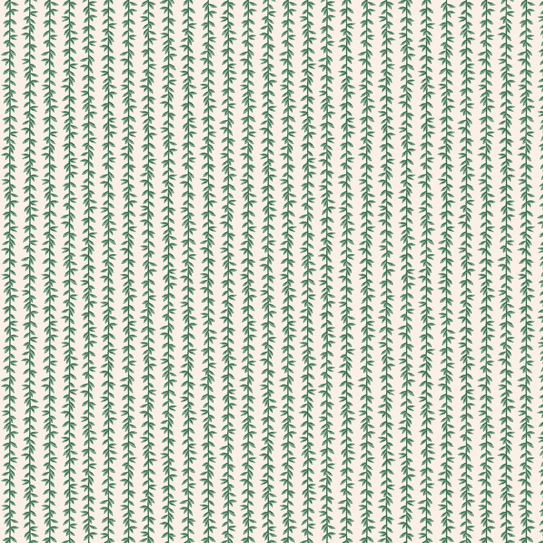 Rifle Paper Co Strawberry Fields - Laurel Stripe (Cream)