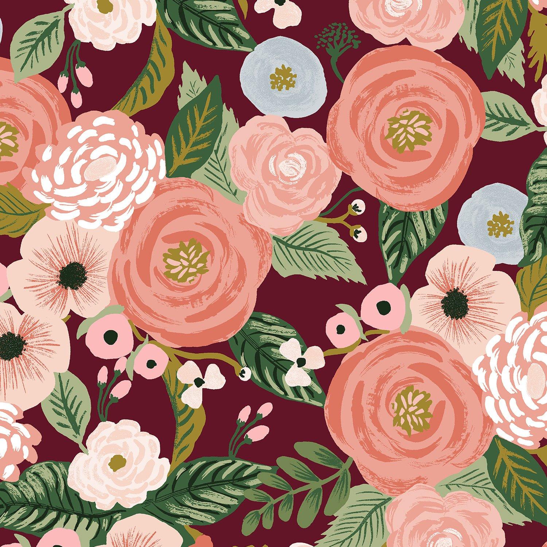 Rifle Paper Co Garden Party - Juliet Rose (Burgundy)