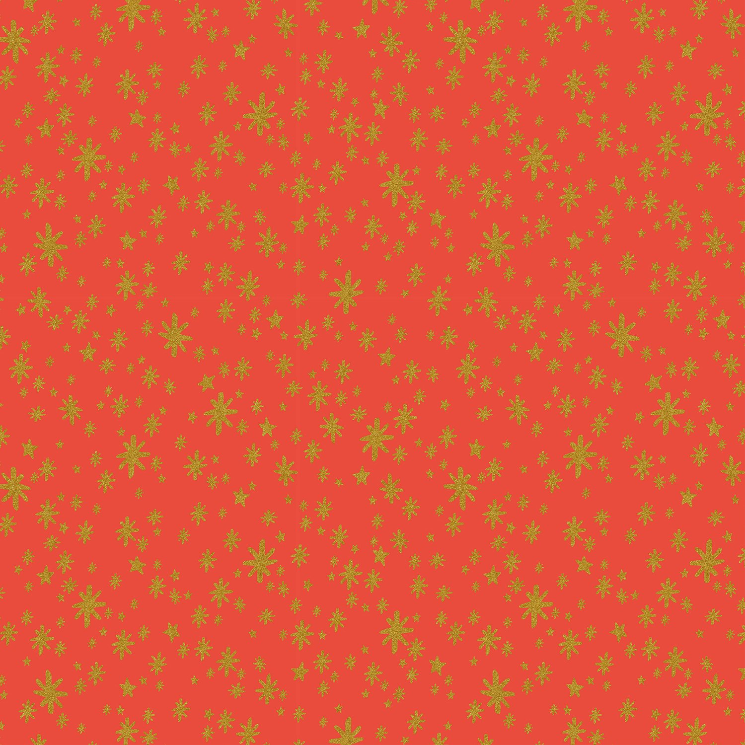 Rifle Paper Holiday Classics - Starry Night Metallic (Red)