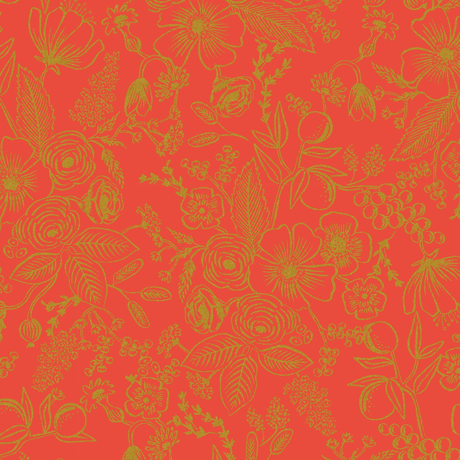Rifle Paper Holiday Classics - Colette Metallic (Red)
