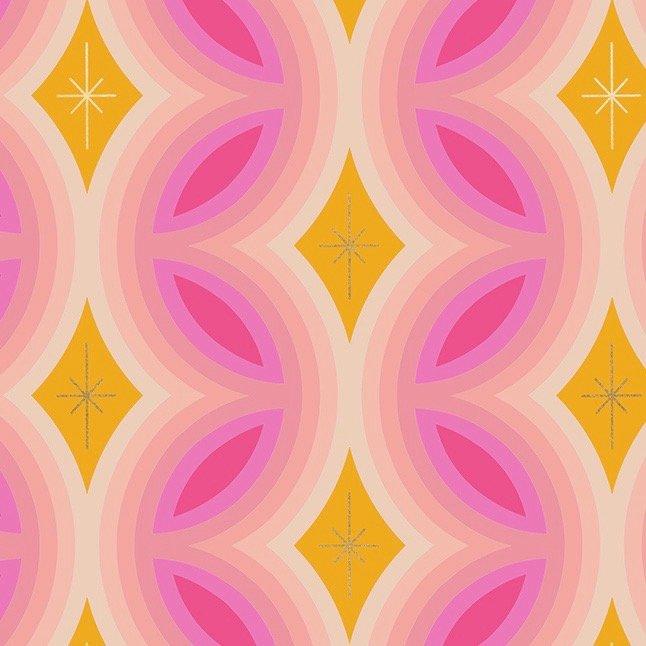 Melody Miller Clementine  Metallic - Kaleidoscope (Sunshine)