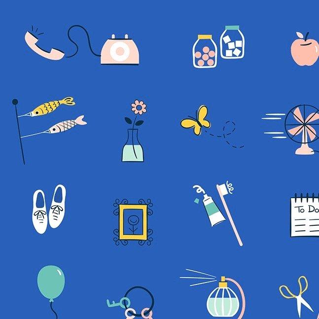 Rashida Coleman-Hale Whatnot - Stuff (Blue Ribbon)