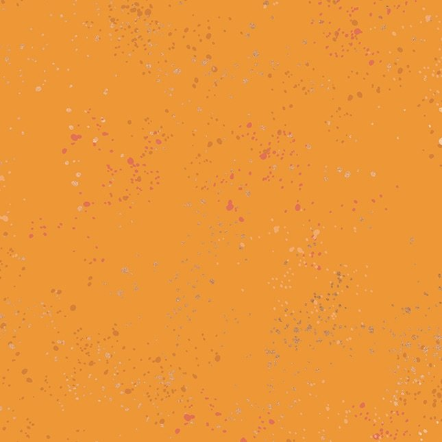 Rashida Coleman-Hale - Speckled Metallic Clementine (Orange)