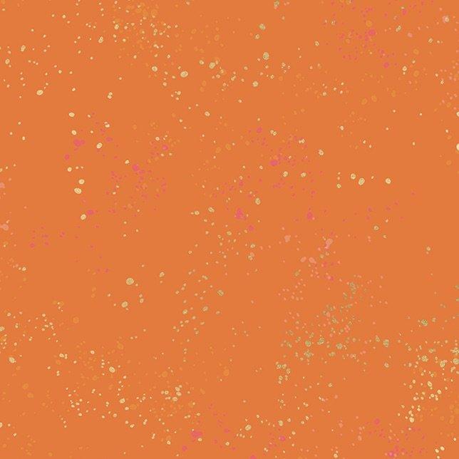 Rashida Coleman-Hale - Speckled Metallic Burnt Orange (Orange)