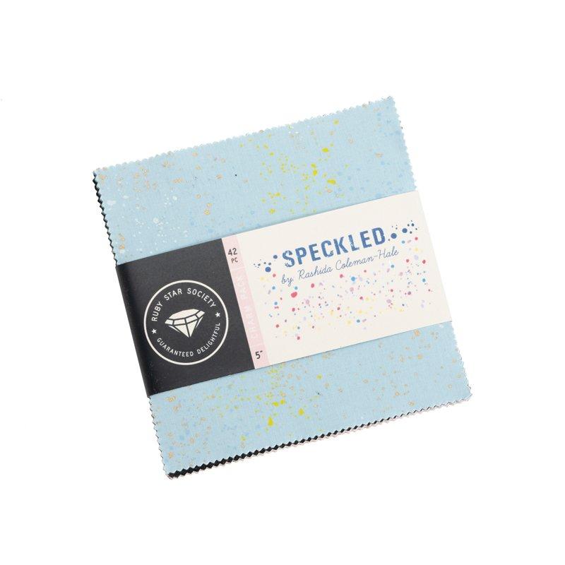 Rashida Coleman-Hale Speckled - 42 pc. Charm Pack (5 squares)