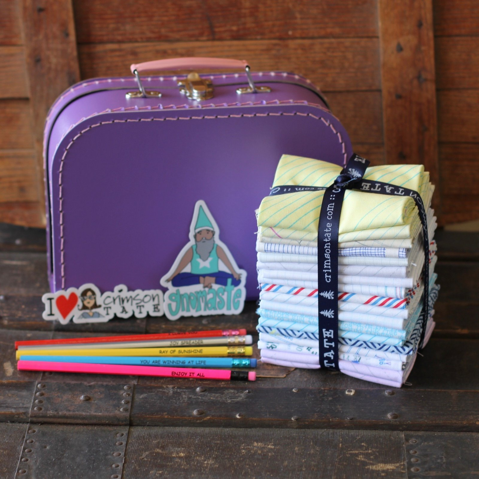 Heather Givans School Supplies - 18 pc. FQ Bundle + Extras
