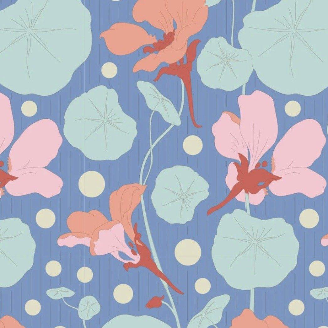 Tilda Gardenlife - Nasturtium (Blue)