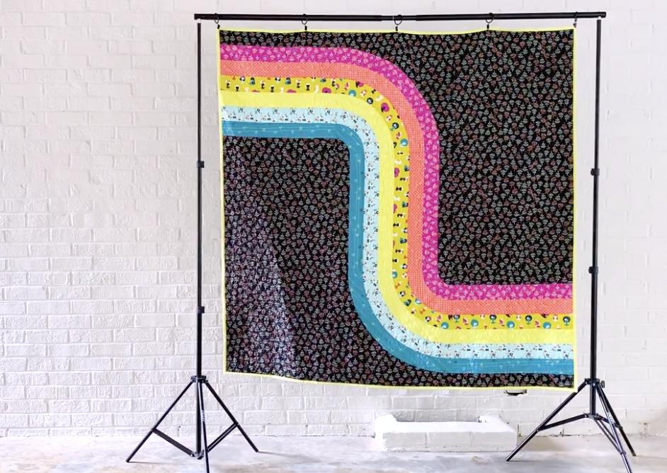 Looper Quilt Kit Featuring Adorn by Rashida Coleman-Hale