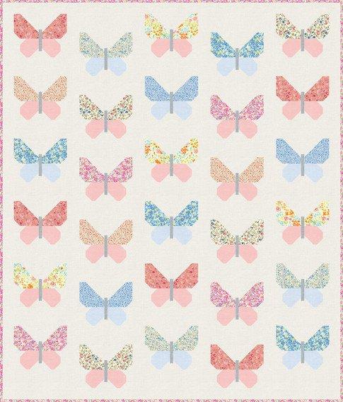 Petite Butterflies Quilt Kit