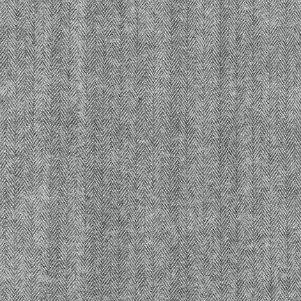 Robert Kaufman Shetland Flannel (Grey)