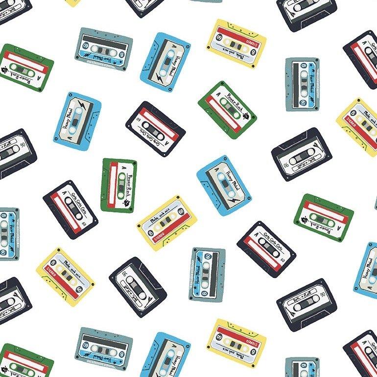 Dear Stella Pour Some Sugar On Me - Cassette Tape Mix (White)