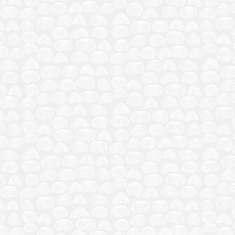 Dear Stella Monochrome White - Rainbows (White)