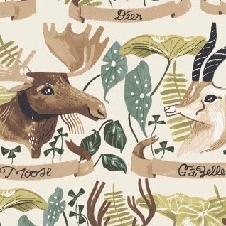 Rae Ritchie Natural History - Horned Beasts (Gardenia)
