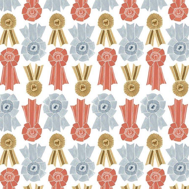 Dear Stella Poppy Prairie - Prize Ribbons (White)