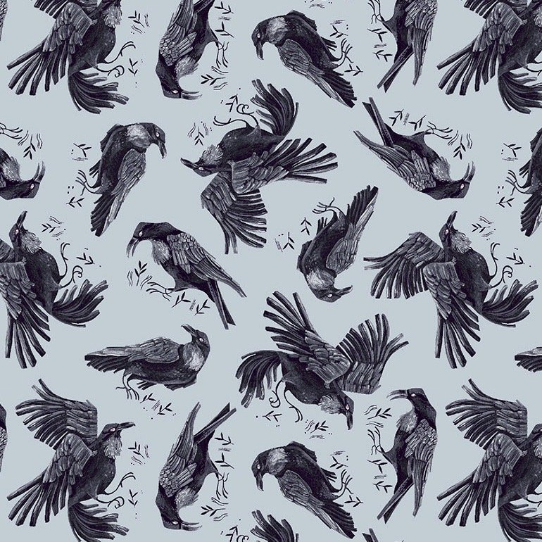 Dear Stella Toil & Trouble - Ravens (Crystal)