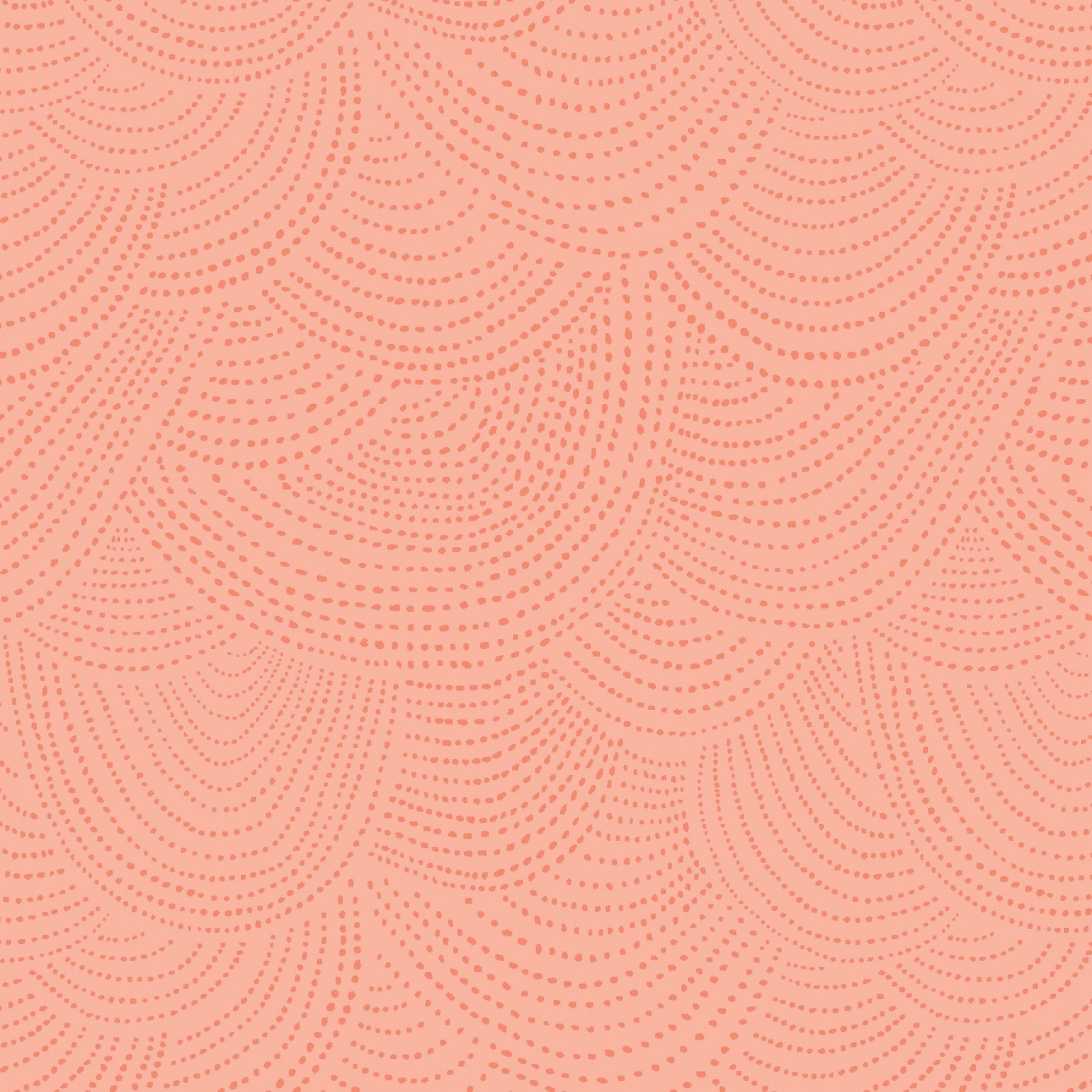 Rae Ritchie Sheepish - Scallop Dot (Melon)