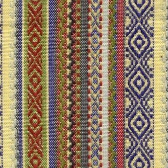 Diamond Textiles World Fabrics - Dobby (Green/Blue)