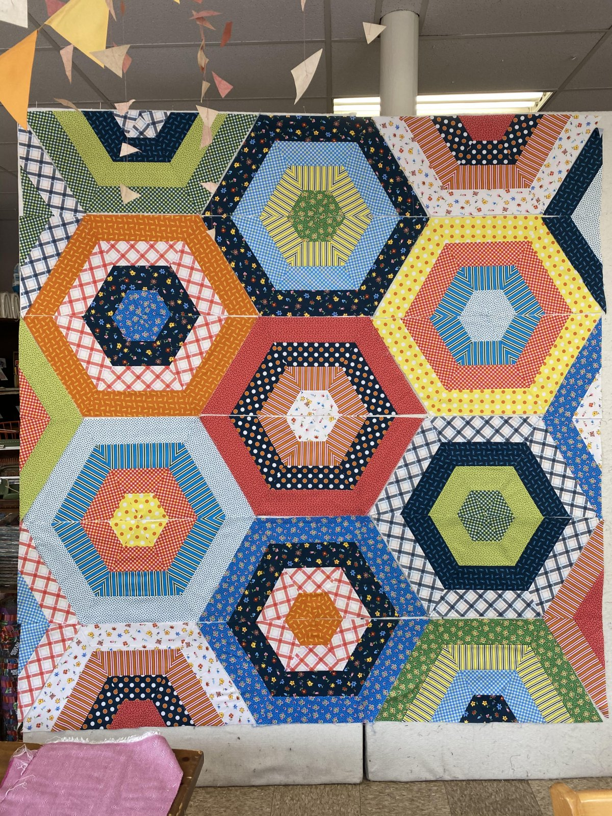 Coming Soon! Succulent Garden Quilt Kit Featuring Denyse Schmidt Five and Ten