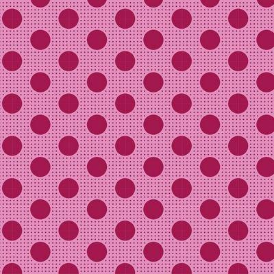 Tone Finnanger Tilda - Medium Dots (Maroon)