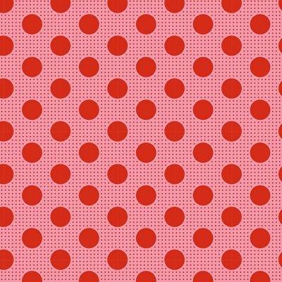 Tone Finnanger Tilda - Medium Dots (Salmon)