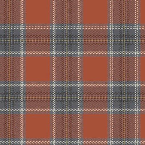 Primo Plaid - Highland (Rust)