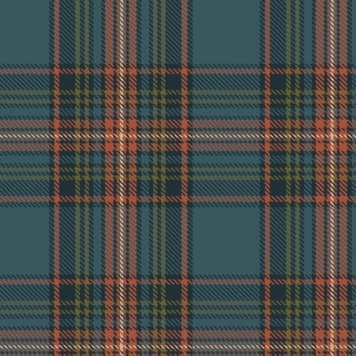 Primo Plaid - Highland (Teal)