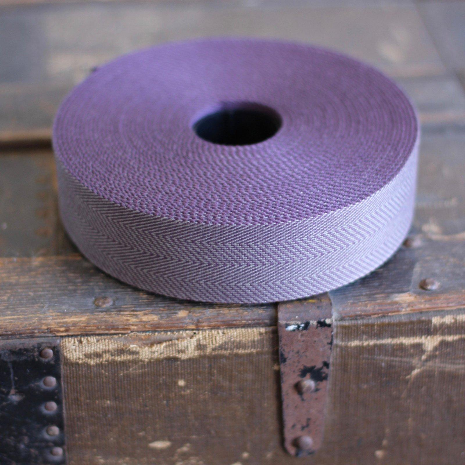 1.5-in Webbing - Herringbone (Plum)
