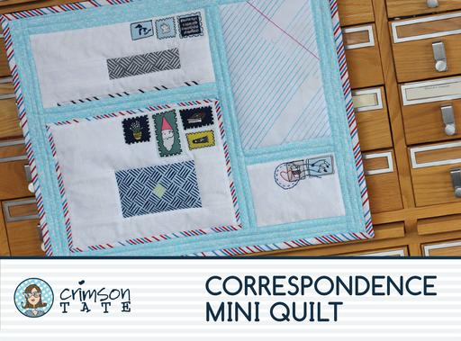 Correspondence Mini Quilt Pattern