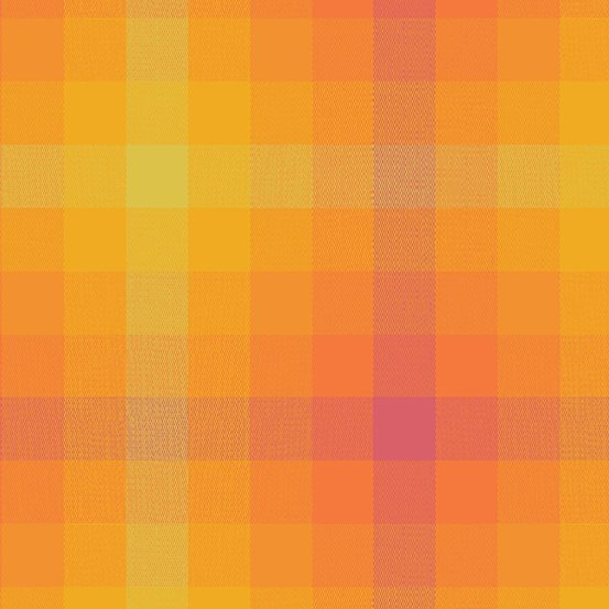 Alison Glass Kaleidoscope - Stripes and Plaids (Marmalade Plaid)