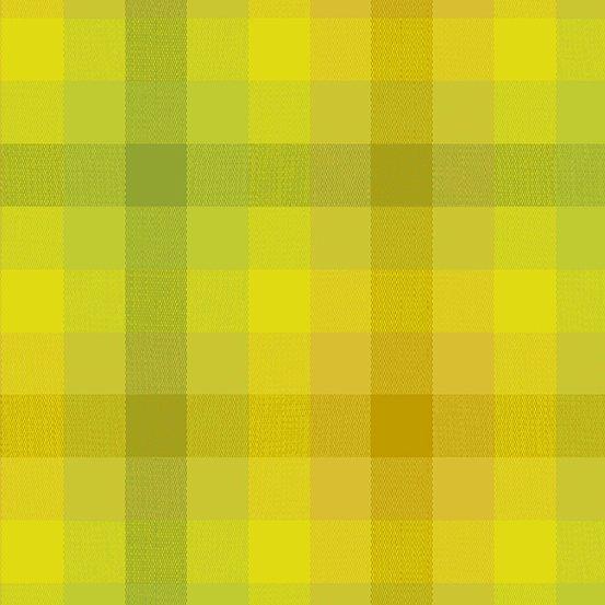 Alison Glass Kaleidoscope - Stripes and Plaids (Sunshine Plaid)