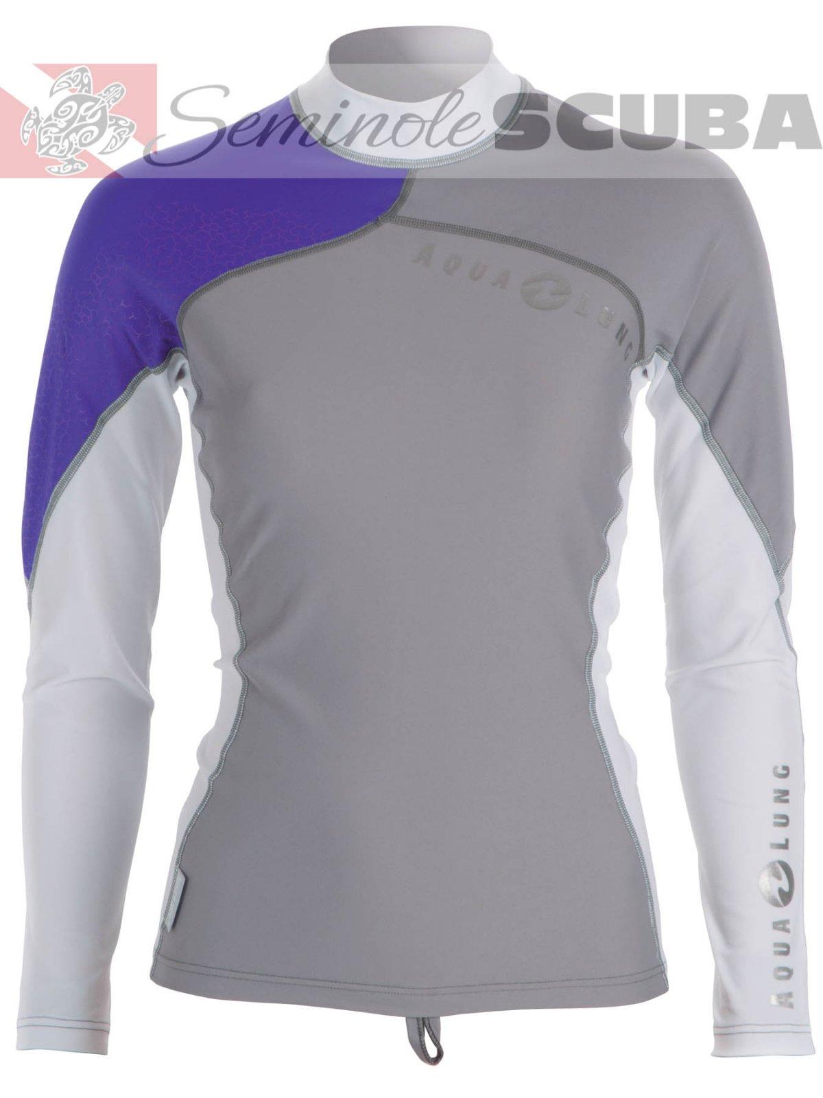 Aqua Lung Women's L/S Athletic Fit Rashguard