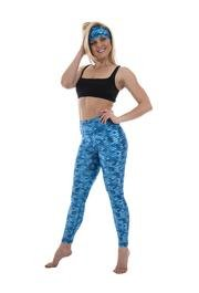 SlipIns Sea Legs - Aqua Mermaid- Sun Protective Leggings
