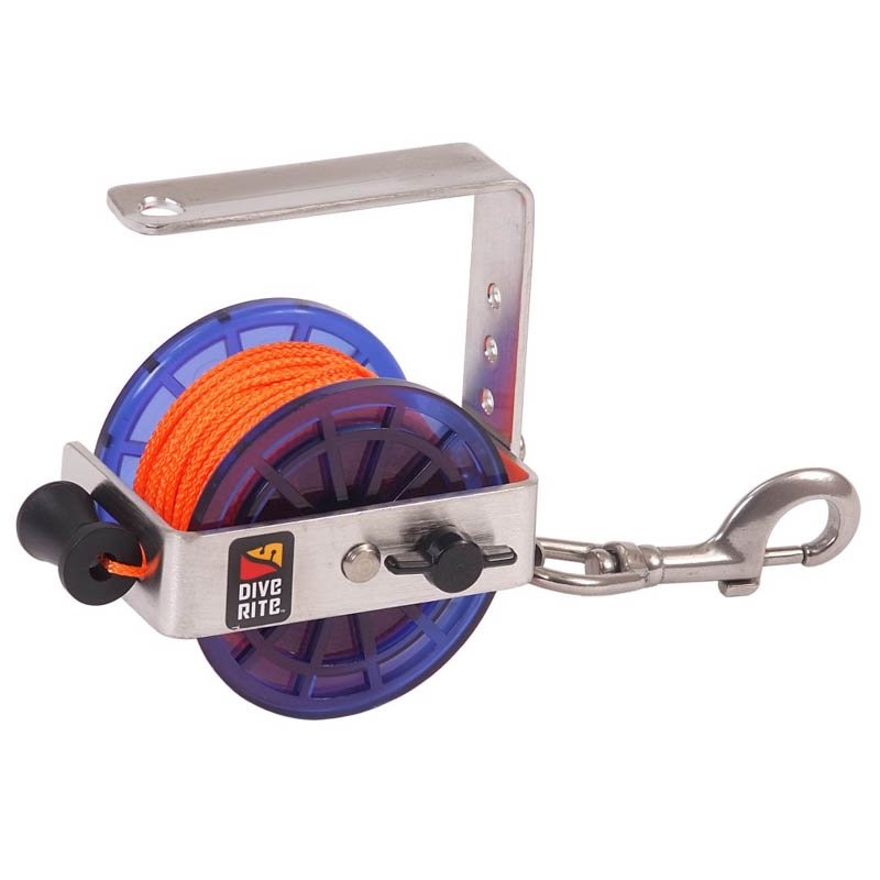Dive Rite Classic Cavern/Safety 140' Reel