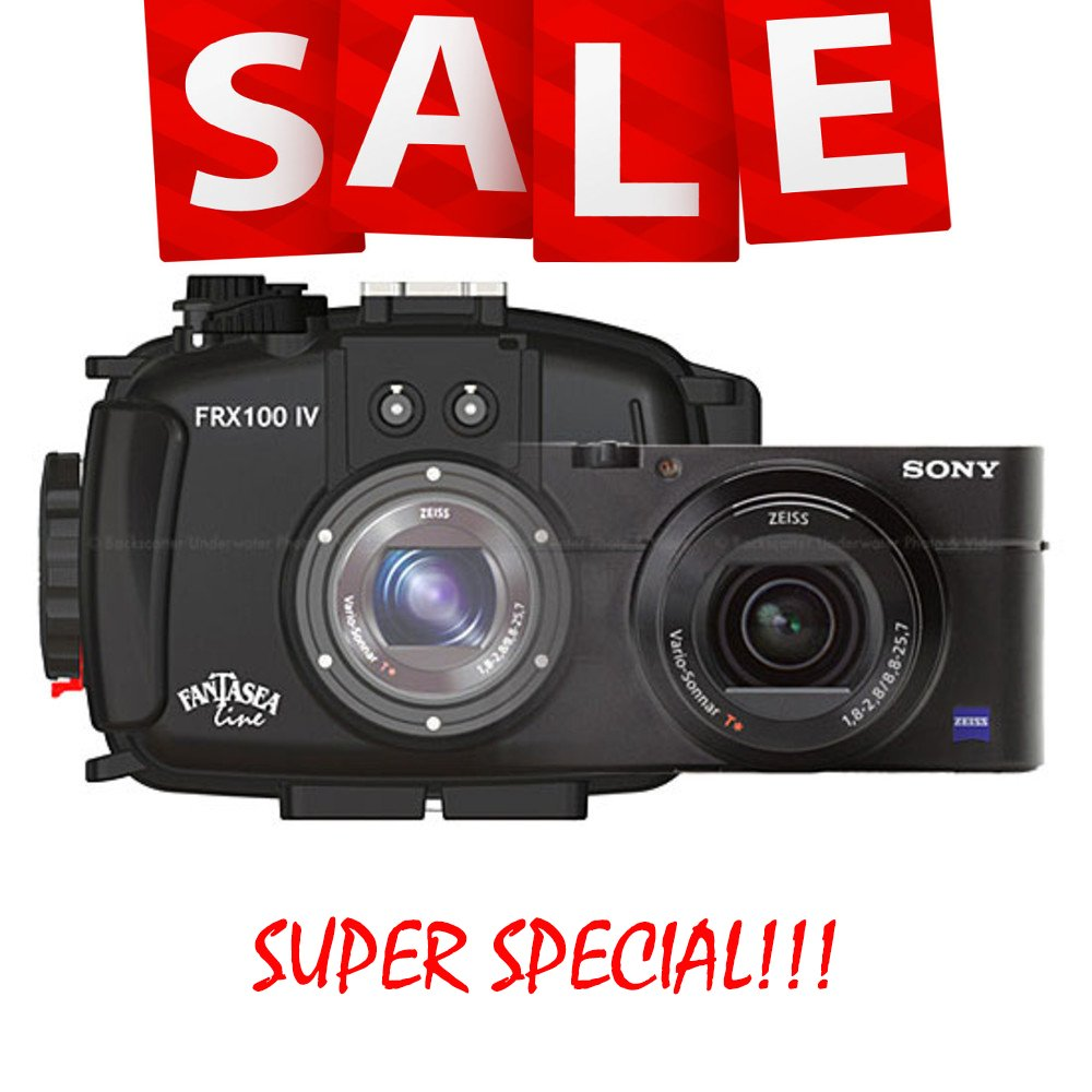 Sony RX100 IV and Fantasea FRX100 IV Housing