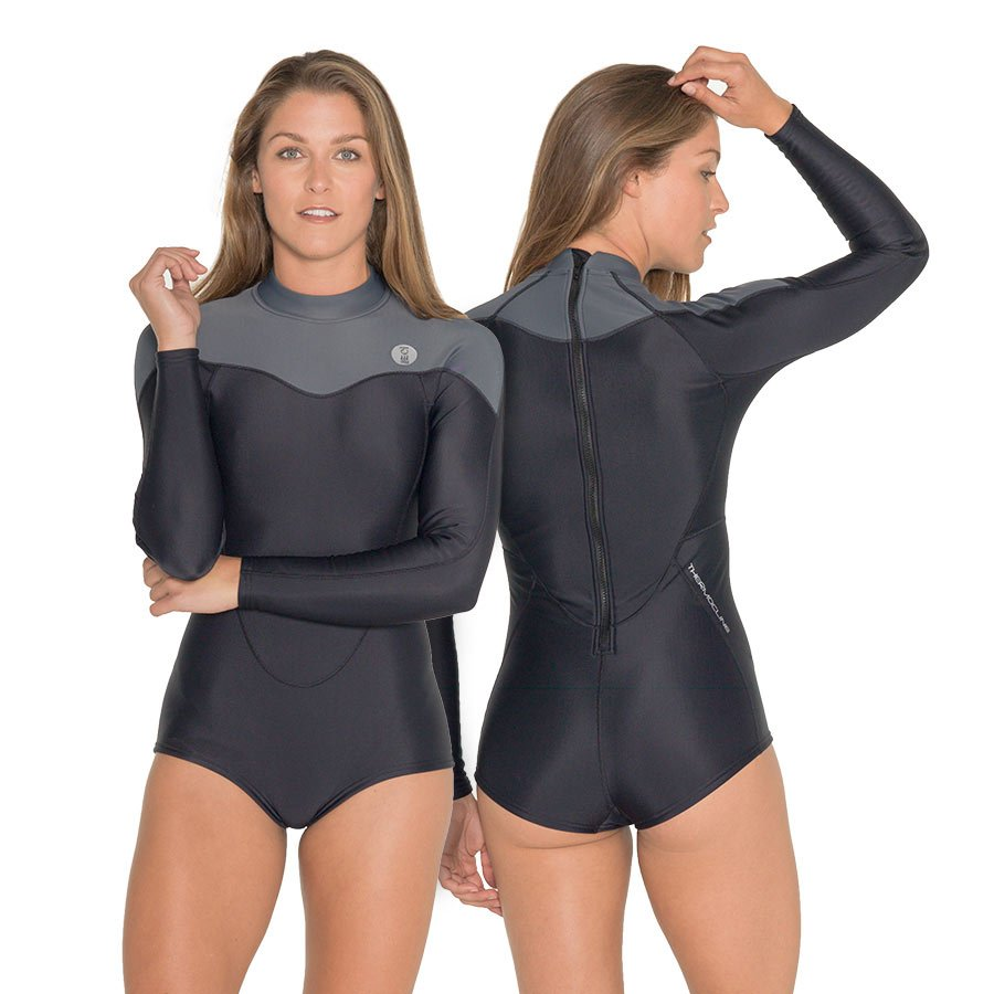 FOURTH ELEMENT WOMEN'S THERMOCLINE LS SWIMSUIT
