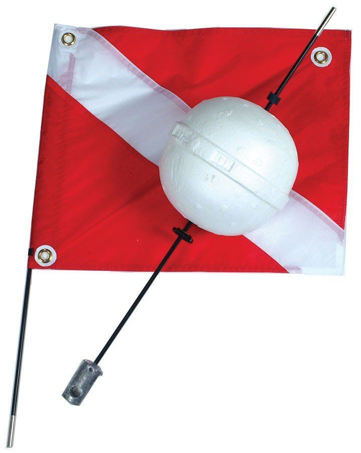 2 Piece Ball Float With Flag
