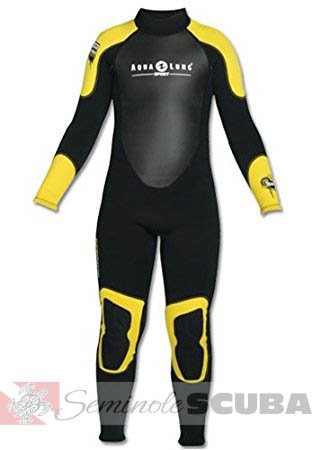 Kids 3MM Quantum Stretch Full Suit
