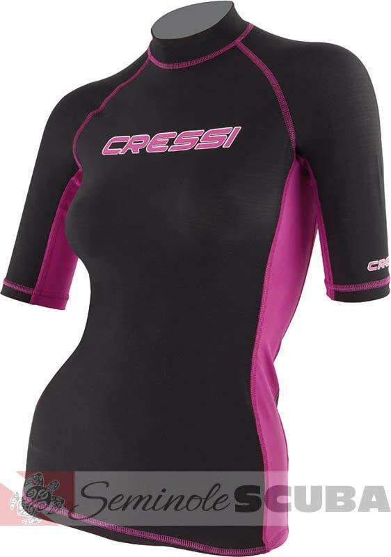 Cressi Women's Short Sleeve Rashguard