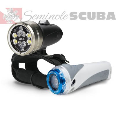 Light & Motion SOLA 2500 Combo Kit