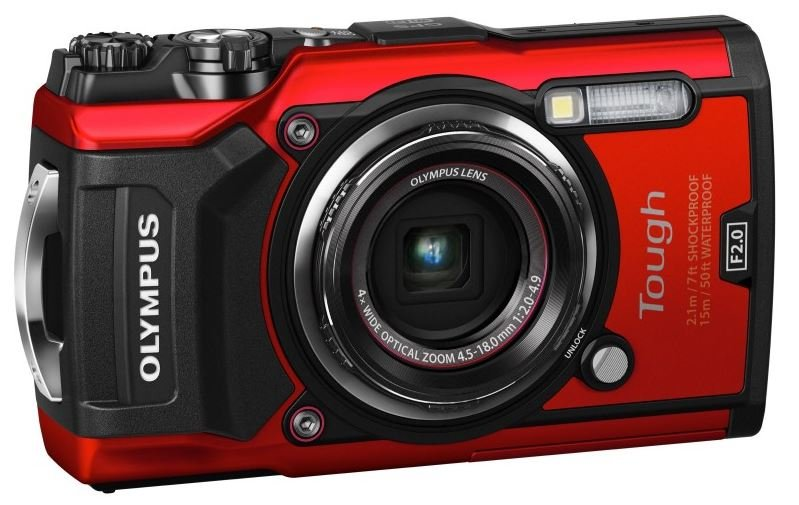 OLYMPUS TG-5 & PT-058 UNDERWATER CAMERA AND HOUSING