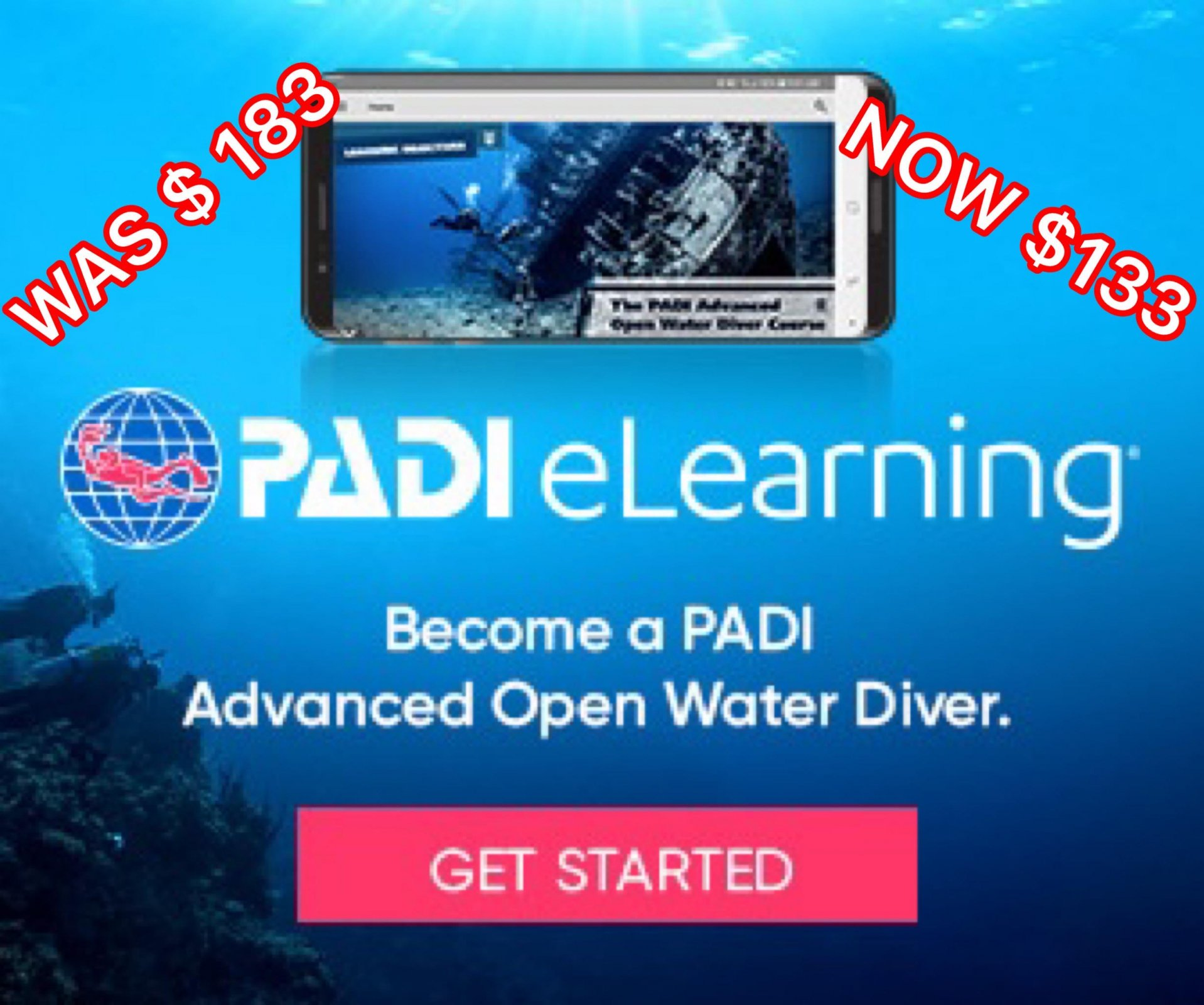 PADI E-LEARNING ADVANCED OPEN WATER
